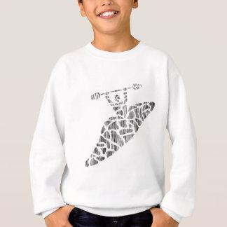 カヤックのフラクタルの粒子 スウェットシャツ