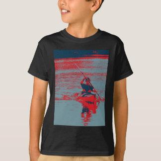 カヤックのポップアート Tシャツ