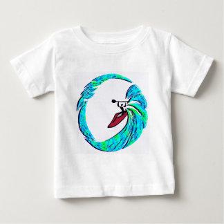 カヤックの大きいサージ ベビーTシャツ