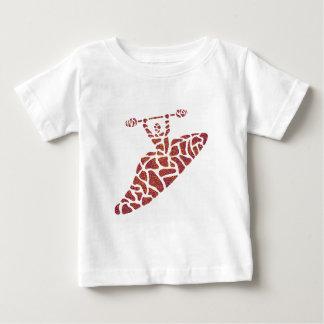 カヤックのOutisideのくねり ベビーTシャツ