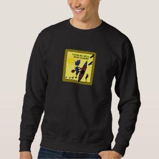 カヤックは他とIIをよく漕ぎます スウェットシャツ