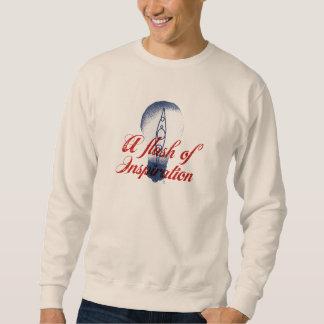 カヤックを漕ぐことは私を常にインスパイア スウェットシャツ