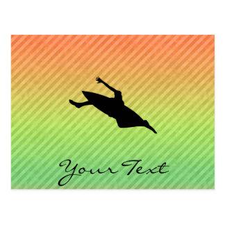 カヤックを漕ぐこと ポストカード