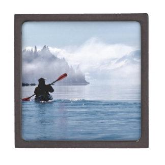カヤックを漕ぐ冬 ギフトボックス