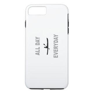 カヤックを漕ぐ終日の毎日 iPhone 8 PLUS/7 PLUSケース