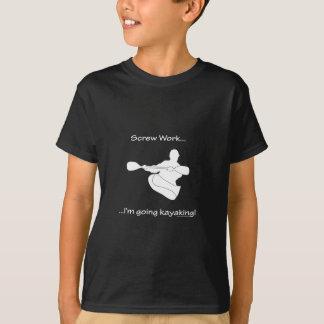 カヤックを漕blk tシャツ