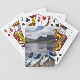 カヤック、揺りかご山およびdove湖の揺りかご トランプ