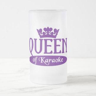 カラオケのマグの女王-スタイル及び色を選んで下さい フロストグラスビールジョッキ