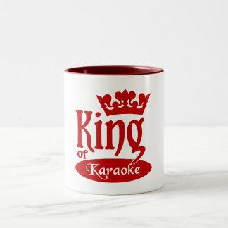 カラオケのマグの王-スタイル及び色を選んで下さい ツートーンマグカップ
