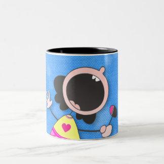 カラオケの女王のマグ ツートーンマグカップ
