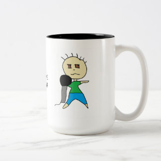 カラオケの星2の調子のマグ ツートーンマグカップ