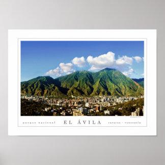 カラカス都市(ポスター) -のアビラの国立公園 ポスター