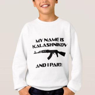 カラシニコフのパーティー スウェットシャツ