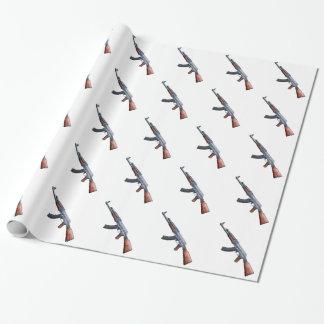 カラシニコフ自動小銃の包装紙 ラッピングペーパー