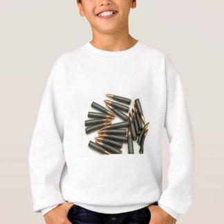 カラシニコフ自動小銃の弾薬弾薬7.62x39mm空ポイント スウェットシャツ