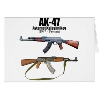 カラシニコフ自動小銃の歴史のAvtomat Kalashnikovaの突撃銃 カード