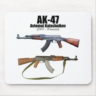 カラシニコフ自動小銃の歴史のAvtomat Kalashnikovaの突撃銃 マウスパッド