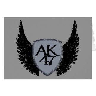 カラシニコフ自動小銃の盾および翼 カード