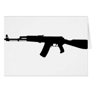 カラシニコフ自動小銃の突撃銃のカラシニコフ カード