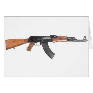 カラシニコフ自動小銃の突撃銃 カード