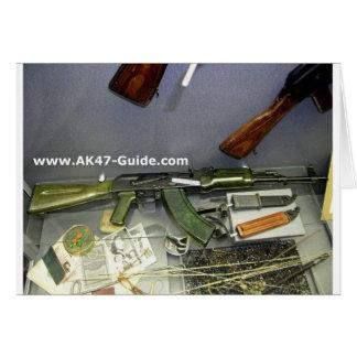 カラシニコフ自動小銃の緑の版 カード