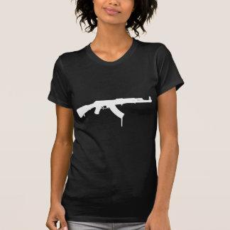 カラシニコフ自動小銃は絵を描きました Tシャツ