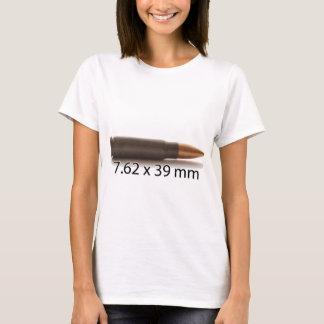 カラシニコフ自動小銃円形7.62 x 39mmの弾薬 tシャツ