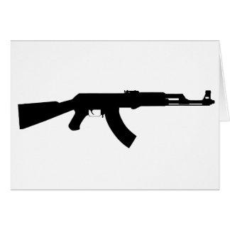 カラシニコフ自動小銃銃 カード