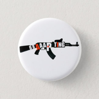 カラシニコフ自動小銃 3.2CM 丸型バッジ
