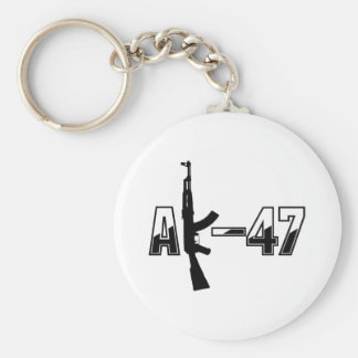 カラシニコフ自動小銃AKMの突撃銃のロゴ キーホルダー