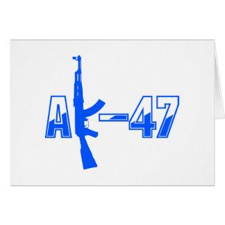 カラシニコフ自動小銃AKMの突撃銃のロゴBlue.png カード