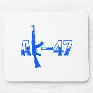 カラシニコフ自動小銃AKMの突撃銃のロゴBlue.png マウスパッド