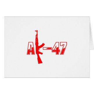 カラシニコフ自動小銃AKMの突撃銃のロゴRed.png カード