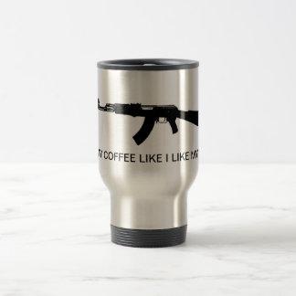 カラシニコフ自動小銃Iは私のコーヒー・マグを好みます トラベルマグ