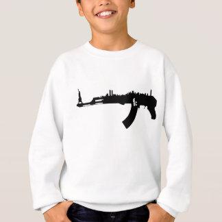 カラシニコフ自動小銃NYのスカイライン スウェットシャツ