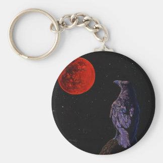 カラスの月 キーホルダー