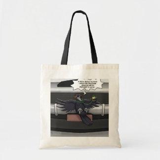 カラスの自助のバッグ トートバッグ