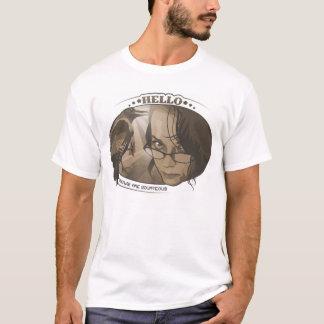 カラスは礼儀正しいです-人 Tシャツ