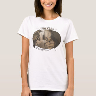 カラスは礼儀正しいです-女性 Tシャツ