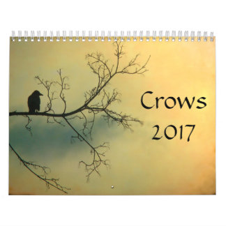 カラス2017年 カレンダー