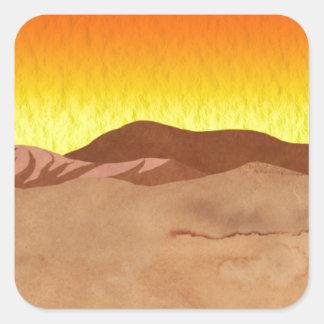 カラハリ砂漠 スクエアシール