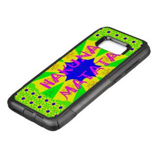 カラフルでスタイリッシュなHakuna Matataパターンデザイン オッターボックスコミューターSamsung Galaxy S8+ ケース