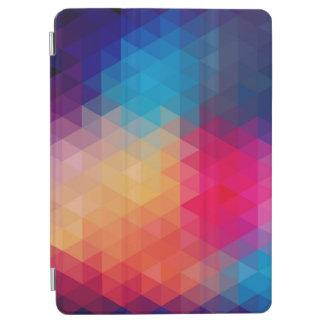 カラフルでモダンな多角形の幾何学的なパターン iPad AIR カバー