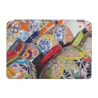 カラフルで伝統的な手塗りのメキシコ陶器 iPad MINIカバー