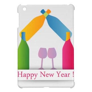 カラフルで幸せな年賀状 iPad MINIケース