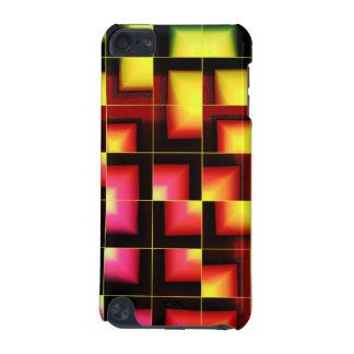 カラフルで幾何学的な抽象芸術 iPod TOUCH 5G ケース