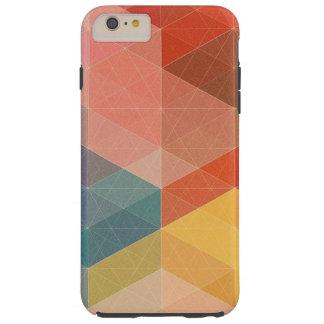カラフルで幾何学的なiPhone6ケース、iPhone 6Sの場合 Tough iPhone 6 Plus ケース