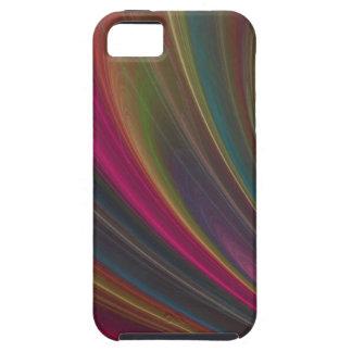 カラフルで柔らかい砂波 iPhone SE/5/5s ケース