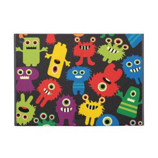カラフルで熱狂するなおもしろいモンスターの創造物パターン iPad MINI ケース