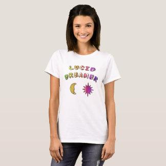 カラフルで透明な夢を見るTシャツの設計 Tシャツ
